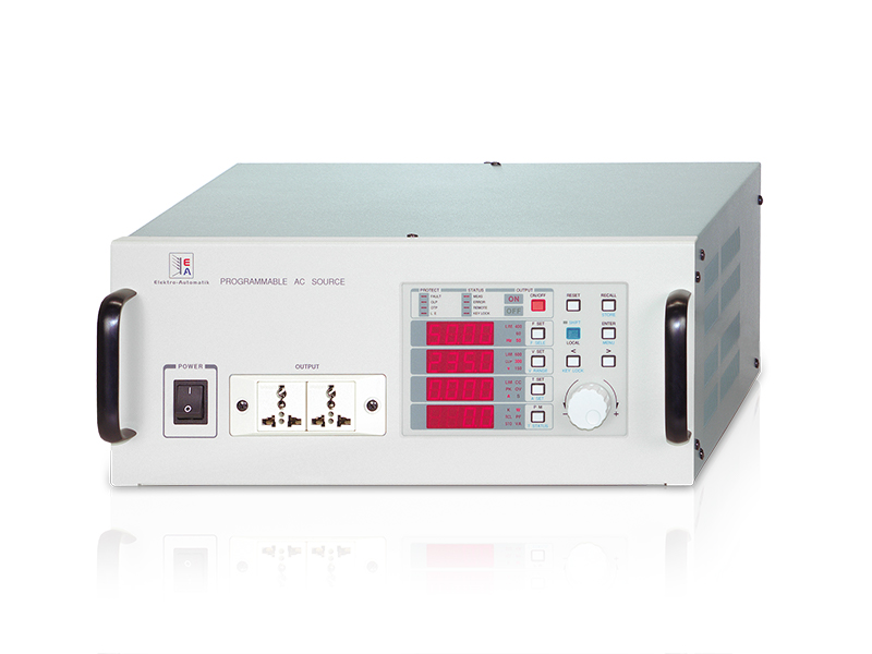 AC Labornetzgeräte<br>Serie ACP 300<br>500 VA bis 45 KVA
