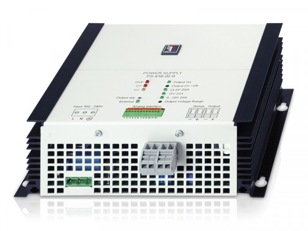 Einbaunetzgerät 0..65V/0..10A