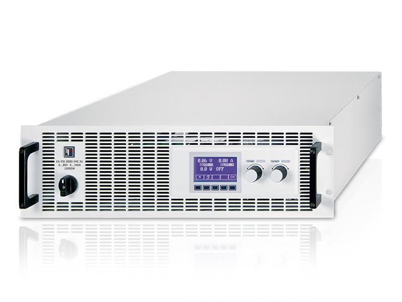 EA - Série PSI 8000 3U de 3,3 à 15 kW