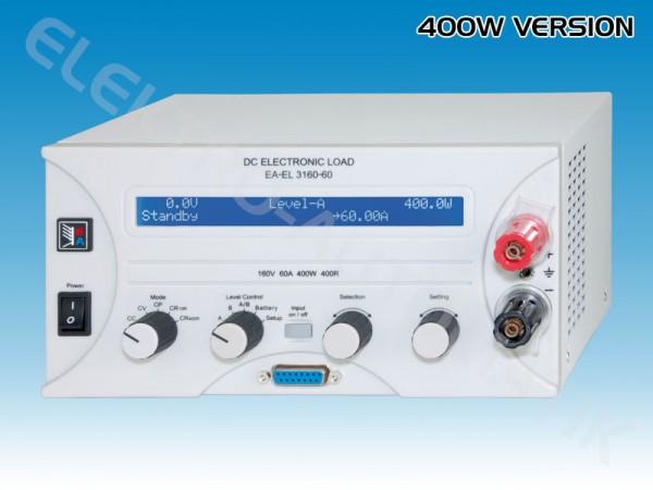 Elektronische Last 0...160V, 0...400W