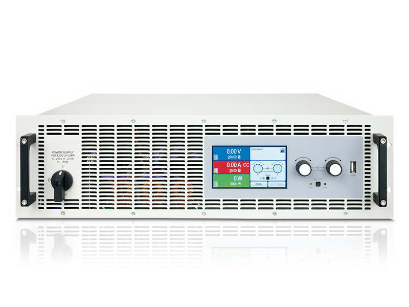 Serie PSI 9000 3U WR 5kW hasta 15kW