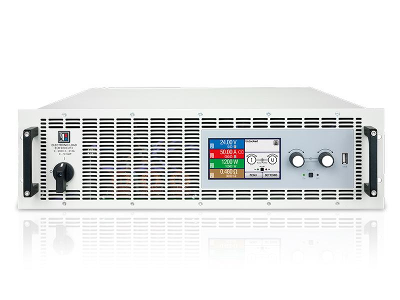 Cargas electrónicas DC programables (convencionales y regenerativas)