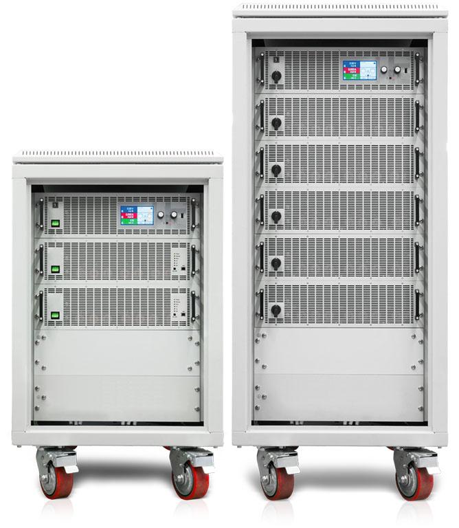 Ea Elektroautomatik Laborstromversorgungen Schrank mit Rollen