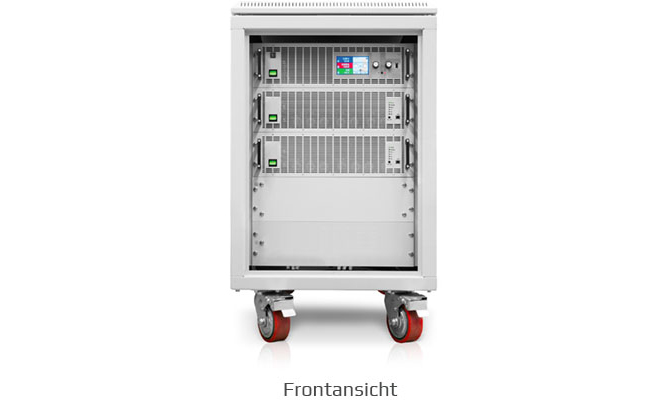 ea-elektroautomatik schranksystem mit rollen