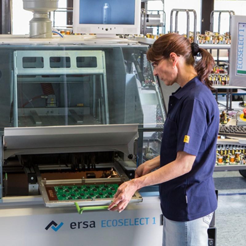 Elektro-automatik Fertigungsprozess